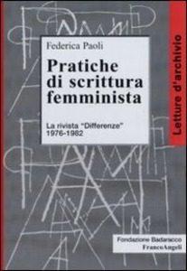 Paoli,differenze, rivista, femminismo