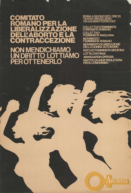 CCRAC / Non mendichiamo un diritto, lottiamo per ottenerlo - 04/06/1975
