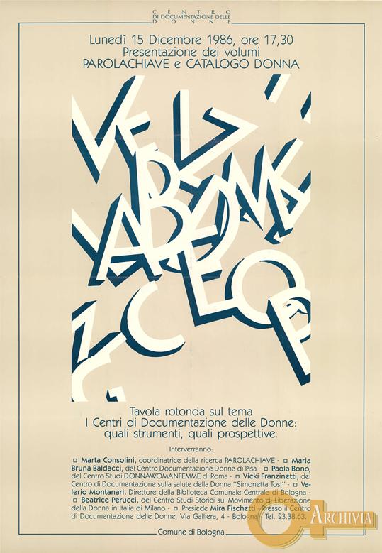 Parolachiave / Tavola rotonda - 15/12/1986