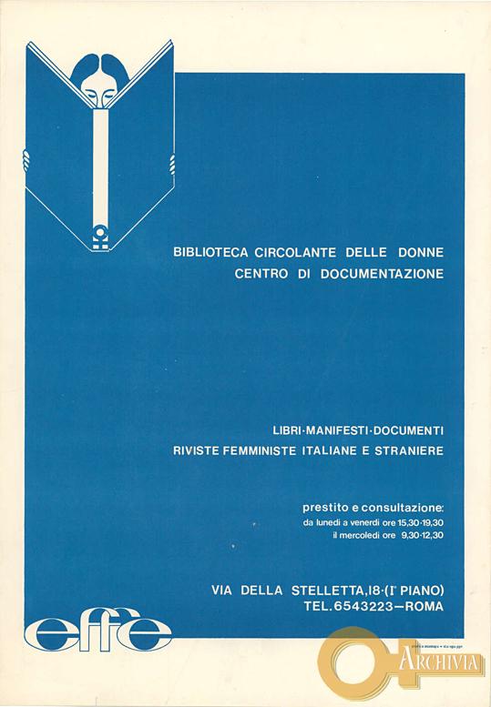 Biblioteca circolante delle donne / Centro di documentazione - [1978]