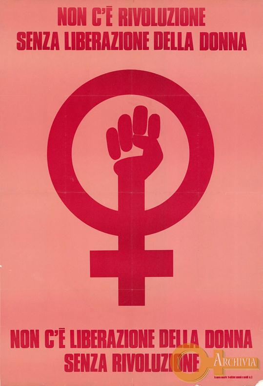 Non c'è rivoluzione senza liberazione della donna - [1972]