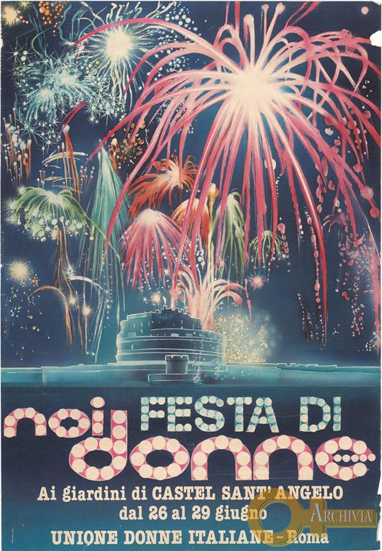Festa di Noi Donne ai giardini di Castel Sant'Angelo - 26-29/06/ [1980]