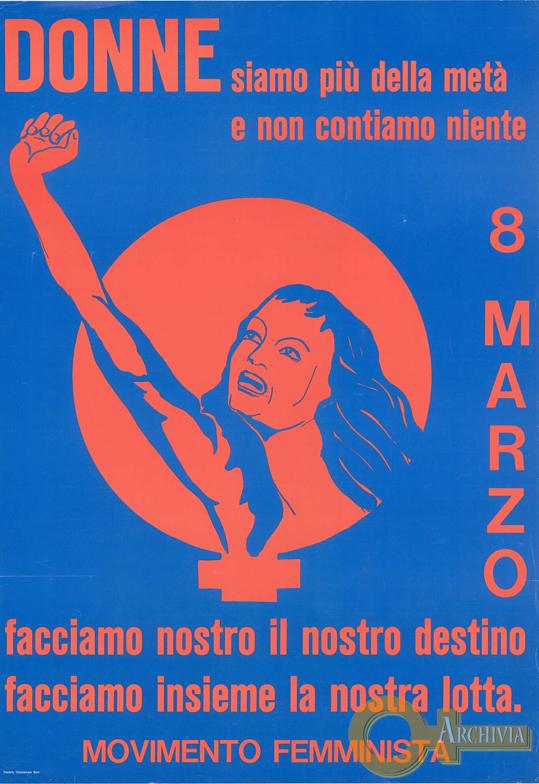 Donne siamo più della metà e non contiamo niente - 08/03/[1974]