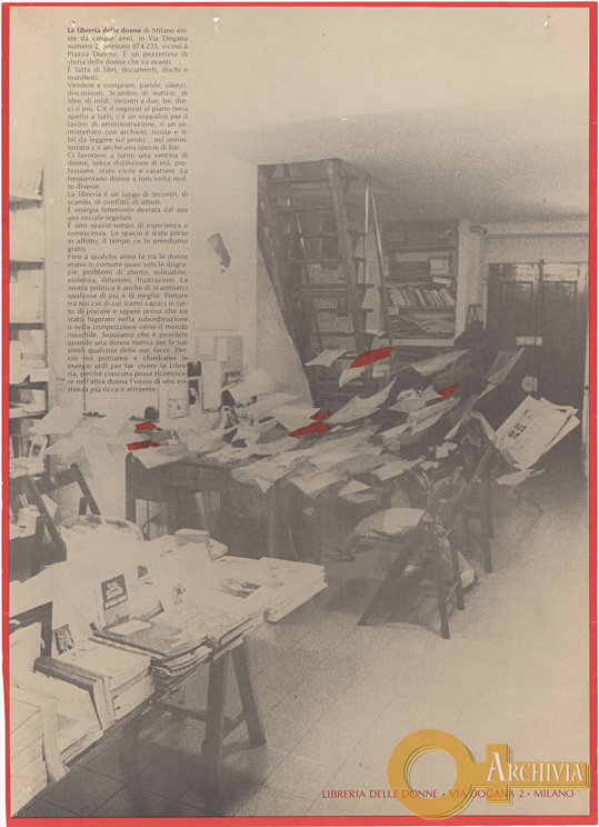 La libreria delle donne di Milano - [1980]