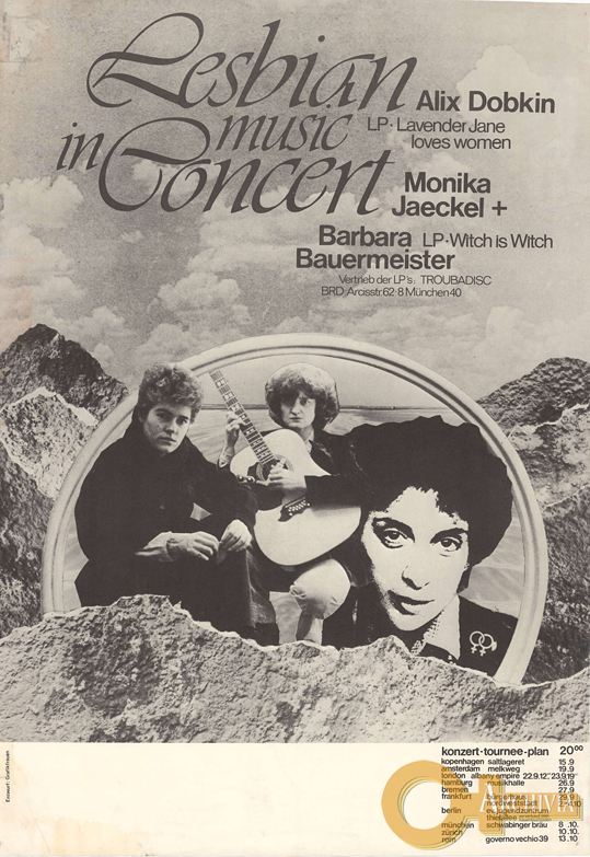 Lesbian music in concert - 1979