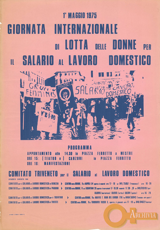 Giornata internazionale di lotta delle donne - 01/05/1975