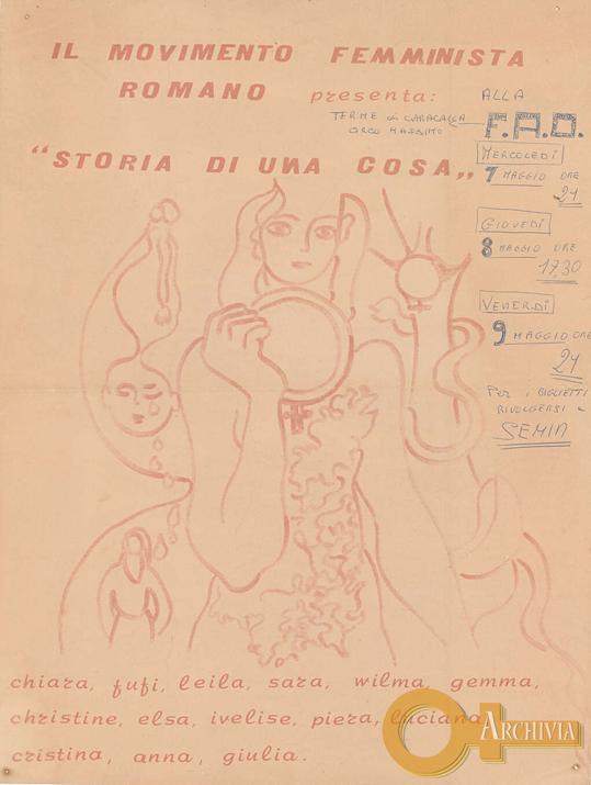 Il movimento femminista romano presenta: Storia di una cosa - 07-09/05[1975]