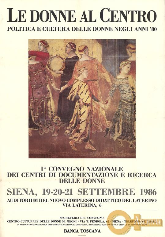 Le donne al centro - 19-21/09/1986