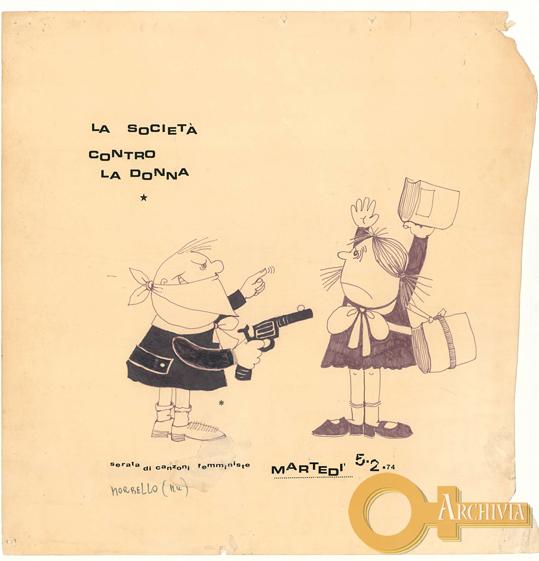 La società contro la donna / serata di canzoni femministe - 05/02/1974