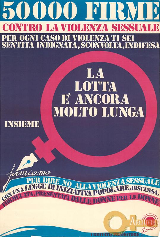50000 firme / contro la violenza sessuale - [1979]