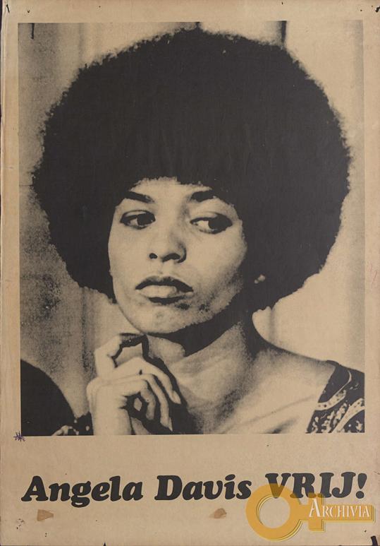 Angela Davis VRIJ! - [anni '70]