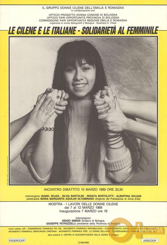 Le cilene e le italiane / Solidarietà al femminile - 10/03/1989