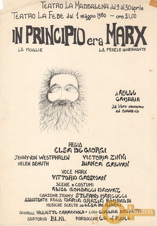 In principio era Marx / di Adele Cambria - 01/05/1980
