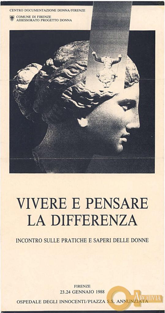 Vivere e pensare la differenza - 23-24/01/1988