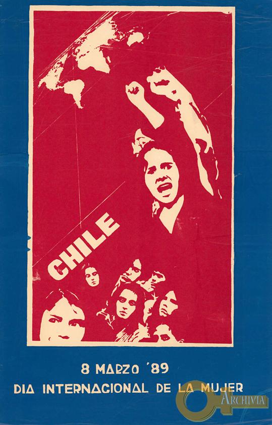 Chile / Giornata internazionale della donna - 08/03/1989