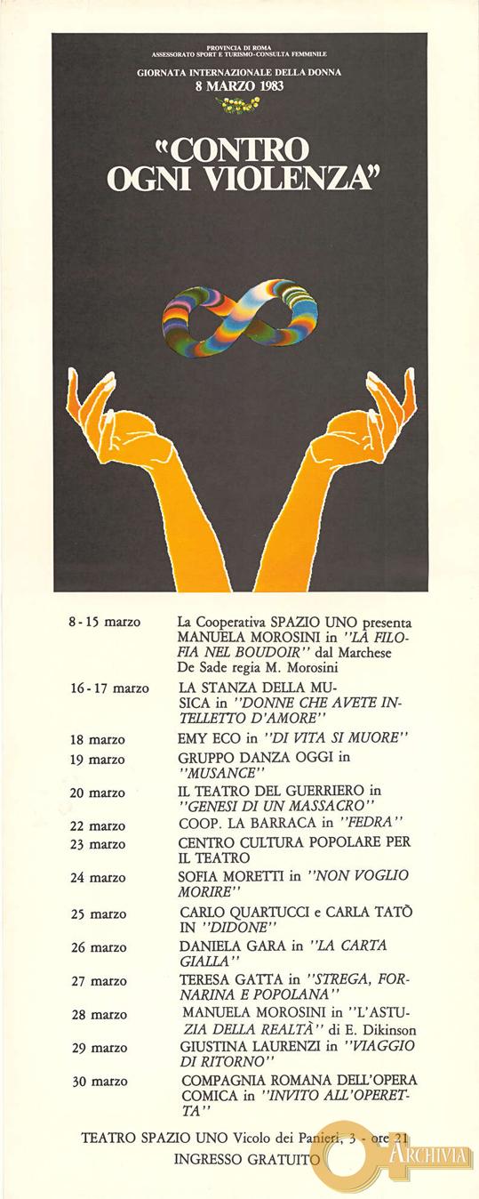Contro ogni Violenza - 08-30/03/1983