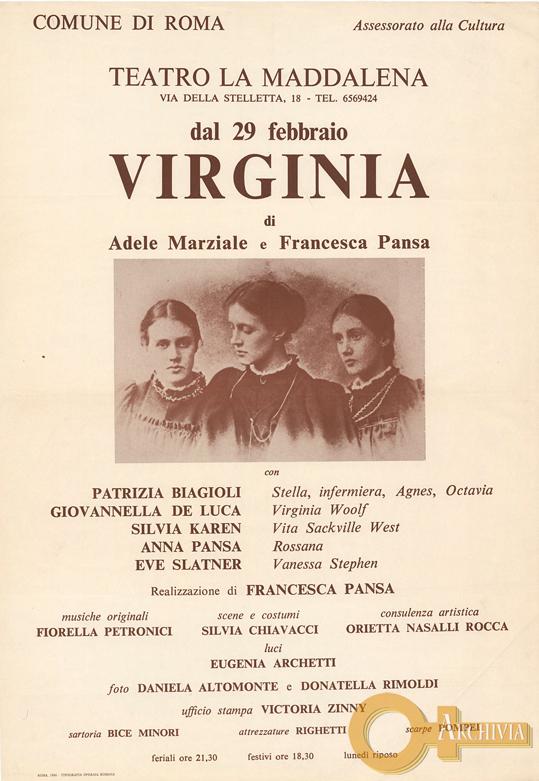 Virginia - 29/09/ [1980]