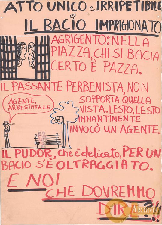 Atto unico e irripetibile / Il bacio imprigionato - [1981]