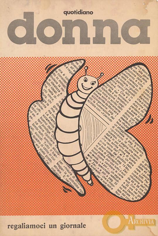 Quotidiano donna / Regaliamoci un giornale - [Post 1978]