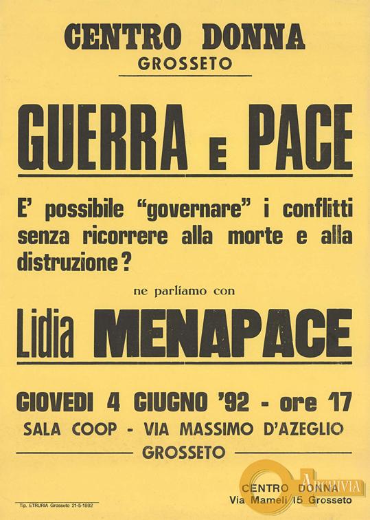 Guerra e Pace - 04/06/1992