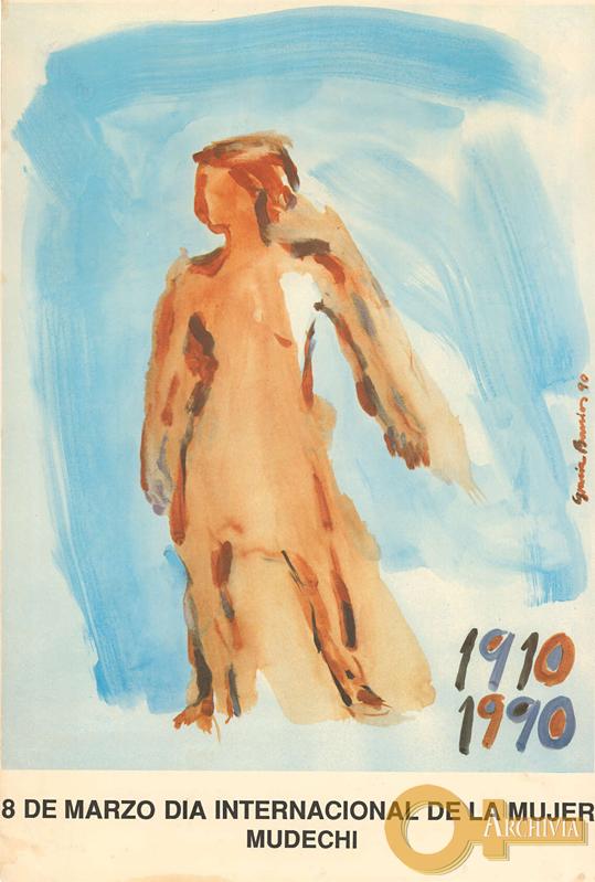 1910-1990 / 8 marzo giornata internazionale della donna / Mudechi - 1990