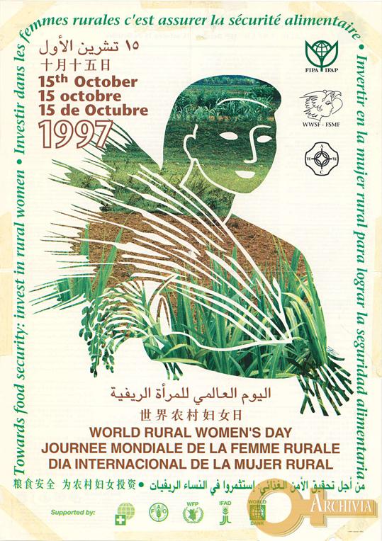 Giornata mondiale delle donne rurali- 15/10/1997