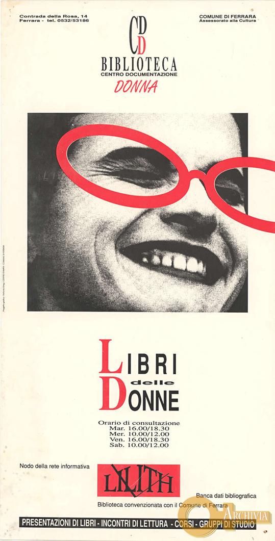 Biblioteca Centro Documentazione Donna - [Post 1979]