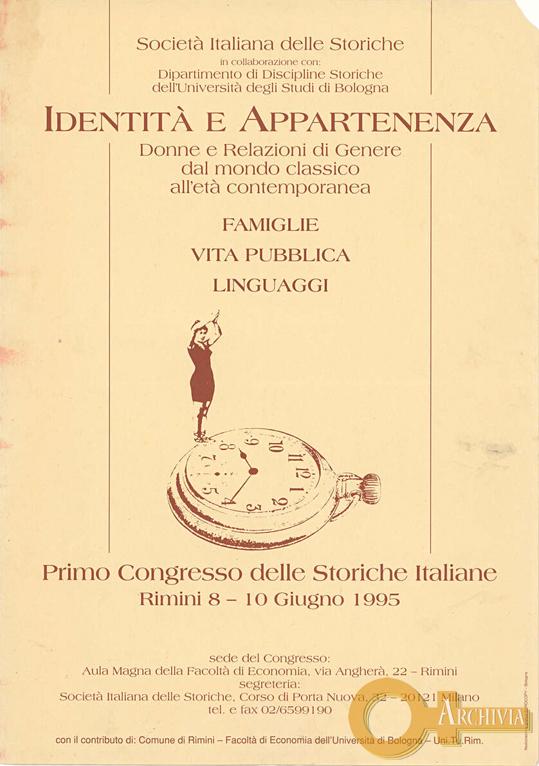 Identità e appartenenza - 08-10/06/1995