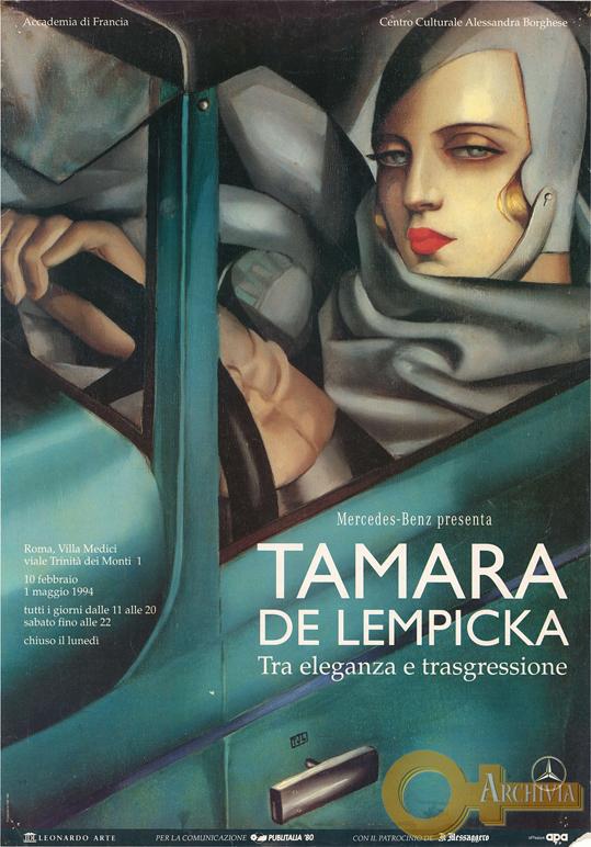 Tamara de Lempicka / Tra eleganza e trasgressione - 10/02/1994-01/05/1994