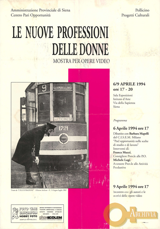Le nuove professioni delle donne - 06-09/04/1994