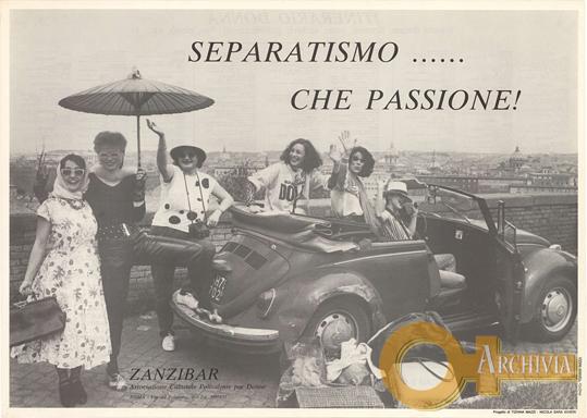 Separatismo...che passione! / Itinerario Donna - [1984/1985]