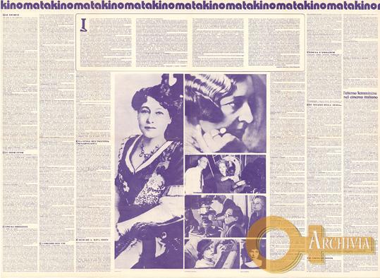 Prima rassegna del cinema al femminile / La donna con la macchina da presa - 15-30/11/1976