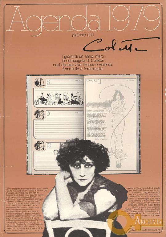 Agenda 1979 / giornate con Colette - 1979