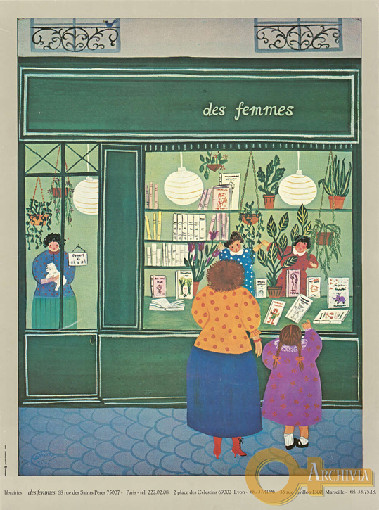 Libreria delle donne / Parigi, Lione, Marsiglia - [Post 1974]