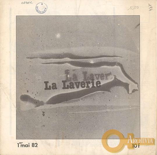 La Laverie / 1 mai 82 / 10 f - 01/05/1982