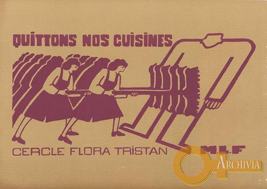Lasciamo le nostre cucine /Circolo Flora Tristan - [1973]