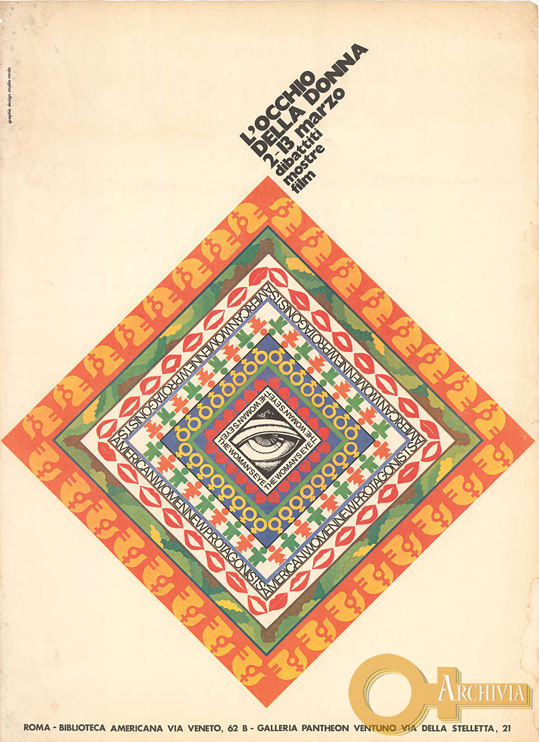L'occhio della donna / Dibattiti Mostre Film - 2-13/03/[1976]