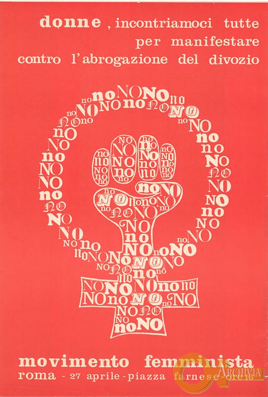 Donne, incontriamoci tutte per manifestare - 27/04/[1974]
